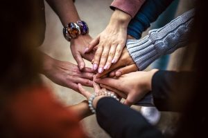 Team Friendship Group Hands